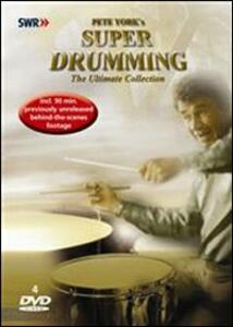 Pete York. Super Drumming. The Ultimate Collection (4 DVD) - DVD