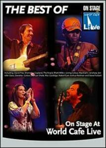 On Stage At The World Cafè Live - DVD