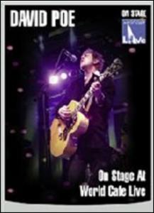 Film David Poe. On Stage at World Cafe Live