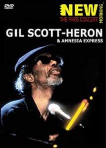 Film Gil Scott Heron. Paris Concert