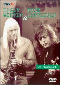 Edgar Winter & Rick Derringer. In Concert - DVD
