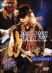 Long John Baldry. In Concert. Ohne Filter - DVD