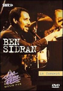 Ben Sidran. In Concert - DVD