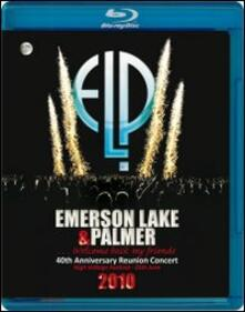 Emerson, Lake & Palmer. Welcome Back My Friends. 40th Anniversary Reunion Concer - Blu-ray