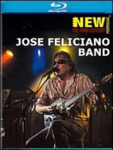 Jose Feliciano. Jose Feliciano Band The Paris Concert di Daniel Farhi - Blu-ray