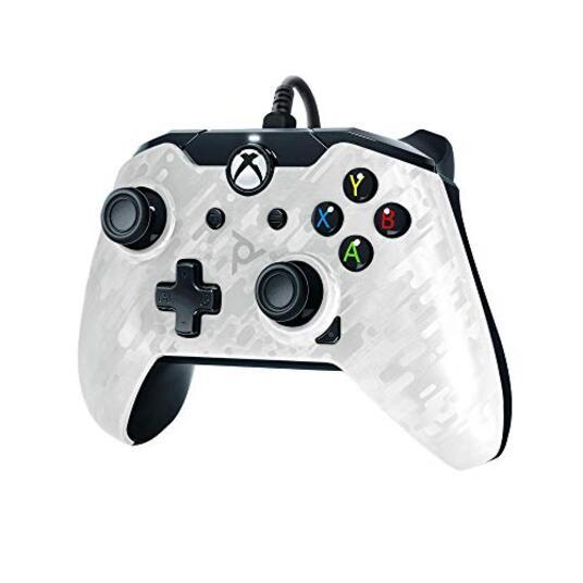 Pdp Controller Cablato Per Xbox One/S/X Et Pc Camo Biancohe 048-082-Eu-Cm01 Essentials Xbox One