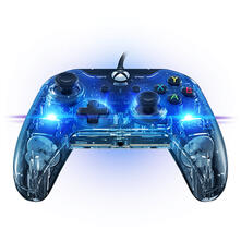 PDP Afterglow New Prismatic Gamepad PC,Xbox One Analogico USB Trasparente