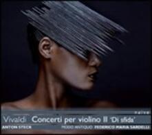 Concerti per violino vol.2 - CD Audio di Antonio Vivaldi,Federico Maria Sardelli,Modo Antiquo,Anton Steck