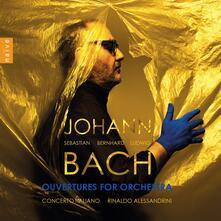 Overture complete per orchestra - CD Audio di Johann Sebastian Bach,Rinaldo Alessandrini,Concerto Italiano