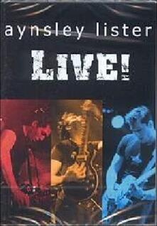 Aynsley Lister. Live! - DVD