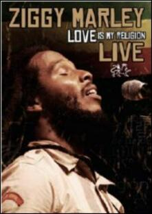 Ziggy Marley. Love Is My Religion Live - DVD