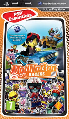Sony Modnation Racers Essentials Psp videogioco PlayStation Portatile (PSP) Basic ITA