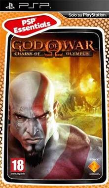 Sony God Of War:Chains Of Olympus Ess. Psp videogioco PlayStation Portatile (PSP) Basic ITA