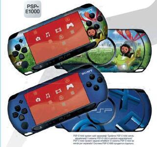 Sony Eyepet f/ PSP E-1004 Cover Multicolore