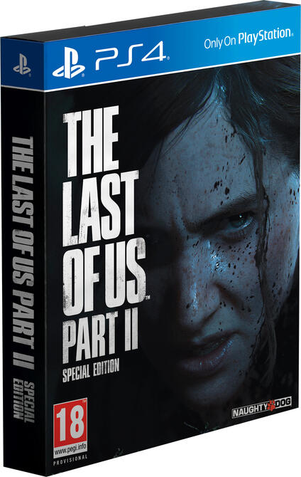 Sony The Last of Us Parte II Special Edition, PS4