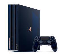 Sony PlayStation Pro 500 Million Limited Edition Blu, Traslucido 2000 GB Wi-Fi