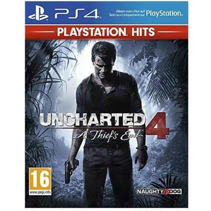 Uncharted 4 HITS - PS4 [French Edition]