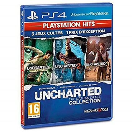 Uncharted The Nathan Drake Collection PS Hits PS4