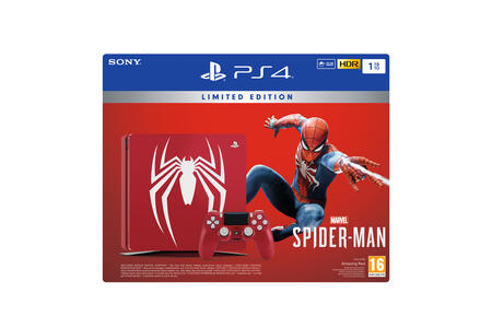 Console  PlayStation 4 - 1TB (Limited edition) + Marvel Spider-Man - PS4