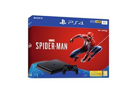 PlayStation4 1TB + Marvel's Spider-Man - PlayStation4