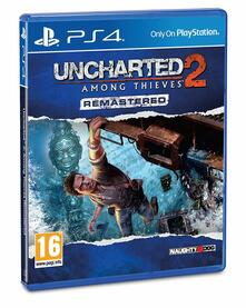 Playstation 4. Uncharted 2. Among Thieves Remastered /Ps4