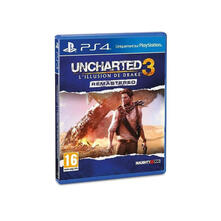 Sony Uncharted 3: L'illusion de Drake Remastered, PS4 PlayStation 4 Basic Francese