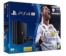 PlayStation 4  1TB Pro + Fifa 18 (bundle ufficiale)