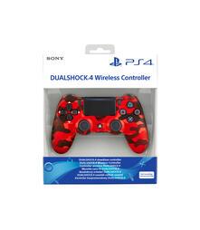 Sony DualShock 4 Gamepad PlayStation 4 Analogico/Digitale Bluetooth Mimetico, Rosso