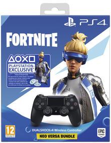 Sony Fortnite Neo Versa Dualshock 4 Gamepad PlayStation 4 Analogico/Digitale Bluetooth Nero