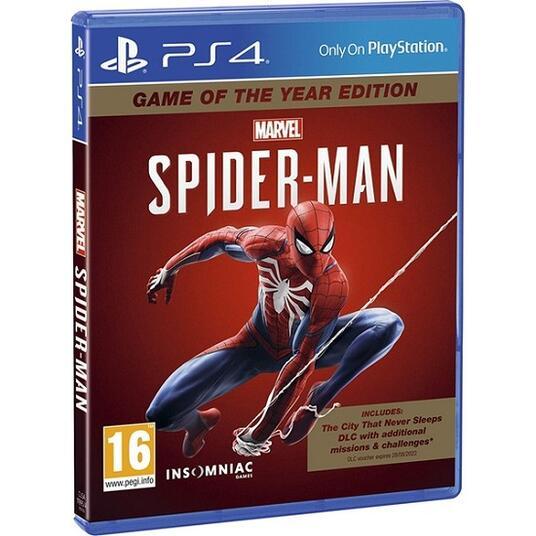 Marvel s Spider Man GOTY PS4