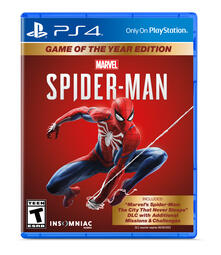 Sony Marvel's Spider-Man: Game of the Year Edition, PS4 videogioco PlayStation 4