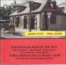 Rare Cuts Well Done vol.3 - CD Audio di Paul Barbarin