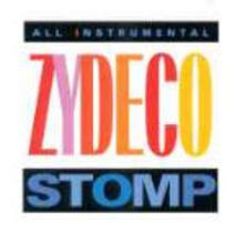 Zydeco Stomp - CD Audio