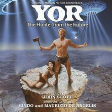 Yor. The Hunter from The Future (Colonna Sonora) - CD Audio di Guido De Angelis,Maurizio De Angelis,John Scott
