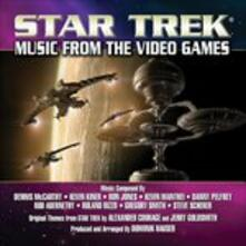 Star Trek. Music from the Video Games (Colonna Sonora) - CD Audio