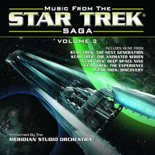 Music from the Star Trek Saga vol.2 (Colonna Sonora) - CD Audio di Meridian Studio Orchestra