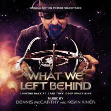 What We Left Behind (Colonna Sonora) - CD Audio di Kevin Kiner,Dennis McCarthy