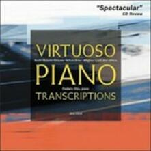 Virtuoso Piano Transcriptions (Digipack) - CD Audio di Frederic Chiu