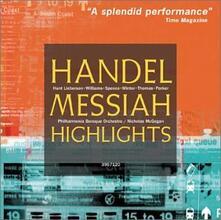 Il Messia (Selezione) - CD Audio di Georg Friedrich Händel