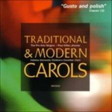 Traditional & Modern Carols (Digipack) - CD Audio di Paul Hillier