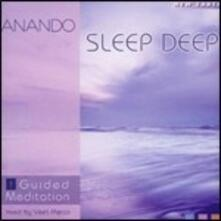 Sleep Deep. Guided Meditation 1 - CD Audio di Anando