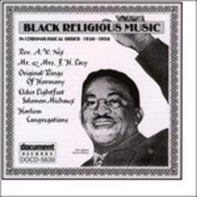 Black Religious Music - CD Audio