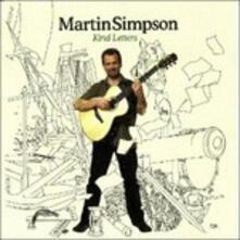 Kind Letters - CD Audio di Martin Simpson