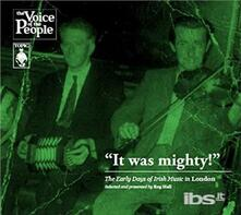 It Was Mighty (Digipack) - CD Audio