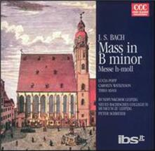 Messa in Si Minore - CD Audio di Johann Sebastian Bach