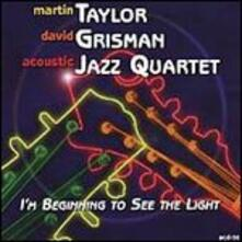 I'm Beginning to See the Light - CD Audio di David Grisman,Martin Taylor