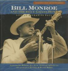 Live at Mechanics Hall - CD Audio di Bill Monroe,Blue Grass Boys