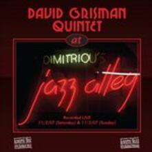 At Jazz Alley - CD Audio di David Grisman (Quintet)