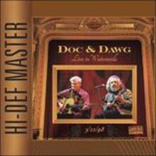 Live in Watsonville 1998 - CD Audio di Doc Watson,David Grisman