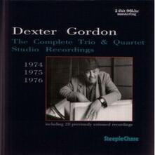 Complete Trio & Quartet Studio Recordings 1974-1976 - CD Audio di Dexter Gordon